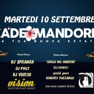 10 settembre 2019 – CaDeFunk by Vision