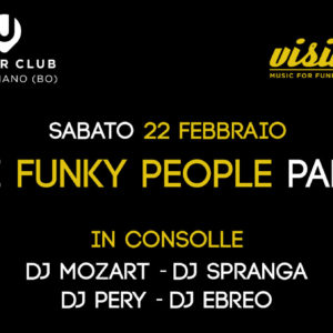 22 febbraio 2020 – Funky People Party