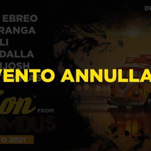 ANNULLATO – 1 agosto 2021 – Vision from Columbus